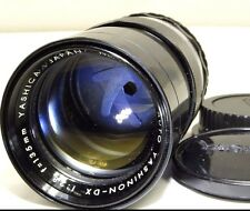 Yashica 135mm f2.8 M42 Lens adapted to CANON EF EOS Digital cameras T6i 70D 80D