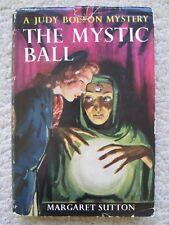 JUDY BOLTON MYSTERY~Mystic Ball~MARGARET SUTTON~1934 HCDJ~