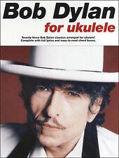 Bob DYLAN Canzoni Per Ukulele Impara a Suonare UKE Spartiti Musicali LIBRO 23 melodie Corde