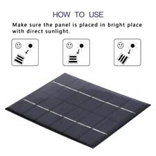 Universal 6V 2W Solar Panel Module Solar Cell Phone DIY Battery Power Charger