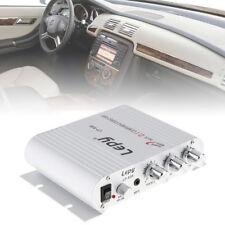 Mini HiFi 200W MP3 Radio Car Audio Stereo Bass Speaker Amplifier Player Silver