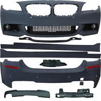 Stoßstangen+Seitenschweller+Nebel Zubehör Kit für BMW F10 Sport Optik Bj.10-13