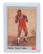 """CHARLES """"SONNY"""" LISTON Boxing 1991 AW Sports Card"""