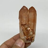 "65.7g, 2.6""x1.2""x1.2"", Natural Red Quartz Crystal Terminated @Morocco, B11492"