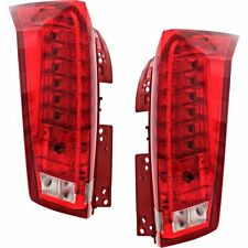 CADILLAC SRX 2010-2016 TAIL LIGHTS REAR LAMPS TAILLIGHTS NEW - PAIR