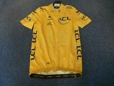 TOUR DE FRANCE 2014 LCS YELLOW LEADERS CYCLING JERSEY [M] BNWT