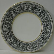 """Wedgwood  FLORENTINE BLACK W4312  Bread Plate (6-1/8"""") BEST! More Available"""