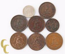 1906-1935 Mexico 2 Centavos Lot (F-AU, 7 coins) +Bonus 1883 Coin! 2c KM-419 420