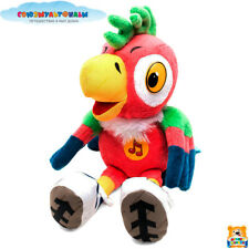 MULTI PULTI The Parrot Kesha, Russian Toy, Talking Plush, Original, 10""