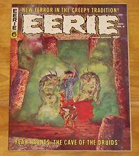 1966 Horror EERIE No. 6 VF- 7.5 Ditko, Frazetta, Severin, Wood, Williamson Art