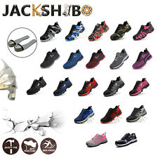 Womens Work Safety Shoes Breathable Outdoor Hiking Steel Toe Construction Boots