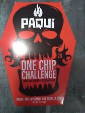 Paqui carolina reaper madness one chip challenge CAUTION EXTREMELY HOT 🔥