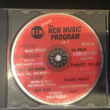S.I.N. New Music Program Vol.X *Limited Edition* Promo (1996) Various Artists