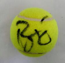Roger Federer signed tennis ball Wimbledon US Open PROOF