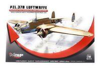 Mirage Hobby Kunststoff Modellbausatz 1:48 Flugzeug PZL.37B Luftwaffe