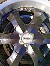 4 x 20'' Advanti Racing Wheels, 265/50 R20 112V Zeetex Tyres Hilux, LandCruiser
