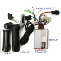 DC 48V 1000W Electric Bike Motor Scooter Speed Controller & Throttle Grips Kit