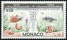 """MONACO STAMP TIMBRE 527 """" MUSEE OCEANOGRAPHIQUE , AQUARIUM 10 C """" NEUF xx TTB"""