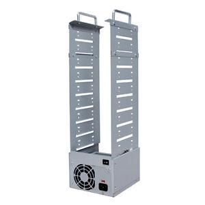 Naked Case 9 Bay ( 7 Burner ) SATA CD DVD Duplicator Enclosure Case Replicator