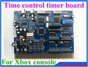 Time control timer board for XBOX console to Jamma cabinet game