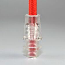 10 St. Klemmnippel Zugentlastung M10 transparent, ideal auch für Textilkabel