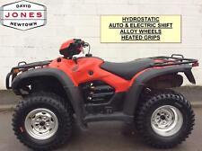 2010 HONDA TRX500 AT AUTO FOREMAN 10 SPEED LOW BOX 4x2x4 4WD QUAD ATV FOUR WHEEL