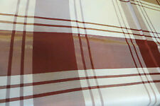 VINTAGE Style ~ Original ~ Burgundy/Cream  ~ TABLECLOTH ~ COUNTRY/CHIC ~ NEW ~
