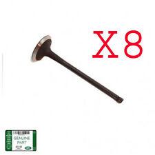 LAND ROVER EXHAUST VALVE SET X8 RANGE LR4 RR SPORT V8 5.0L LR010698 OEM