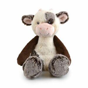 Frankie & Friends 28cm Buttercup Cow Soft Animal Plush Toy Kids 3y+ Black