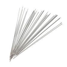 30x Perlen Nadeln passen Schmuck machen Threading schö PNE
