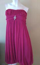 50% off Jessica Women's Deep Pink Strapless Dress Size 6