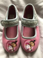 Despicable Me Agnes Unicorn Pink Girls Slippers Size 9