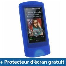 Étuis, housses et coques bleus pour lecteur MP3 Sony