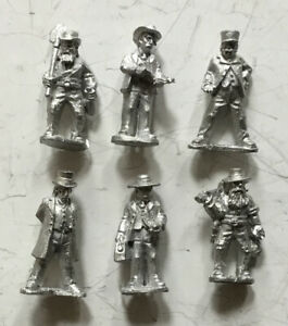 Wargames Foundry 28mm Wild West OW111 Town Traders (6 Figures)