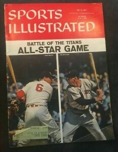 1957 Sports Illustrated baseball magazine Musial St. Louis Ted Williams Boston G