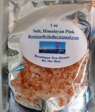 Pink Himalayan sea salt - Medium Grain - all natural salt - 1 - 6 oz. Packages
