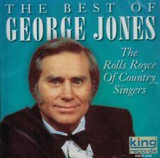 "GEORGE JONES ""THE BEST OF GEORGE JONES"" Brand New CD COUNTRY MUSIC"