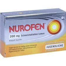 NUROFEN 200 mg Comprimés orodispersibles Citron 24 pièces PZN11550548