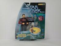 1997 Playmates Star Trek Warp Factor Series 1 Cmdr William Riker Figure Toy