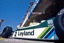 CARLOS REUTEMANN Williams FW07C ITALIANO Grand Prix 1981 Fotografia