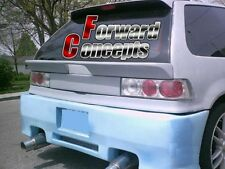 FOR  HONDA Civic 88-91 EF HATCHBACK REAR WING HATCH SPOILER
