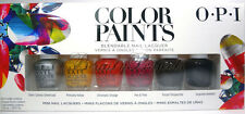 OPI Color Paints Blendable Mini Nail Lacquers Polish 6pc Set .125oz fast ship!!