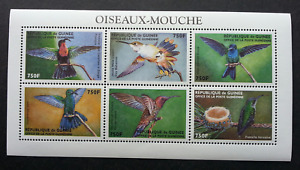 [SJ] Guinea Hummingbirds 1999 Bird (miniature sheet) MNH