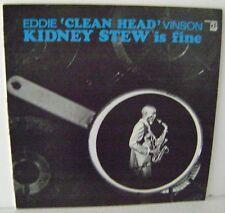 """Eddie 'Clean Head' Vinson Kidney Stew is fine 12"""" Vinyl Delmark Records DS-631"""