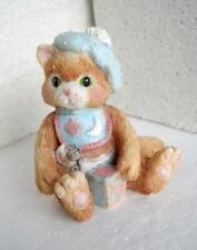 Enesco Calico Kittens Figurine A Bundle of Love #628433 1992 Tan Brown