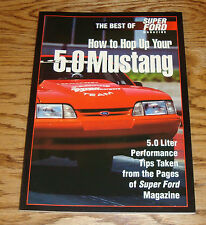 1994 Best of Super Ford Magazine How to Hop Up Your 5.0 Mustang