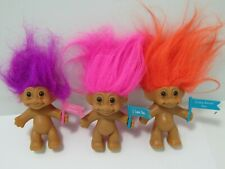 Russ Troll Dolls  Lot Vintage 3 Inch Valentine sayings and more