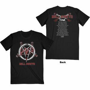 SLAYER Hell Awaits Tour T-SHIRT NEW S M L XL XXL official band merch