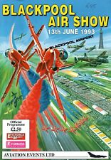 Blackpool Airport 1993 Air Day Official Souvenir Programme