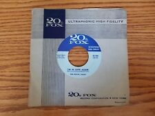 Vintage 45 rpm The Royal Jacks ‎The Big Ring / I'm In Love Again 20th Fox '58